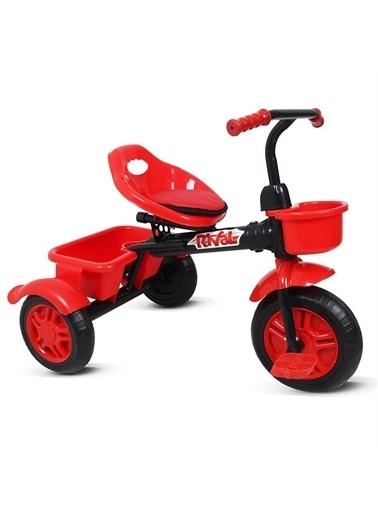 Rival Rv500 3 Tekerli Bisiklet Profil Kadro Dolgu Teker Kırmızı